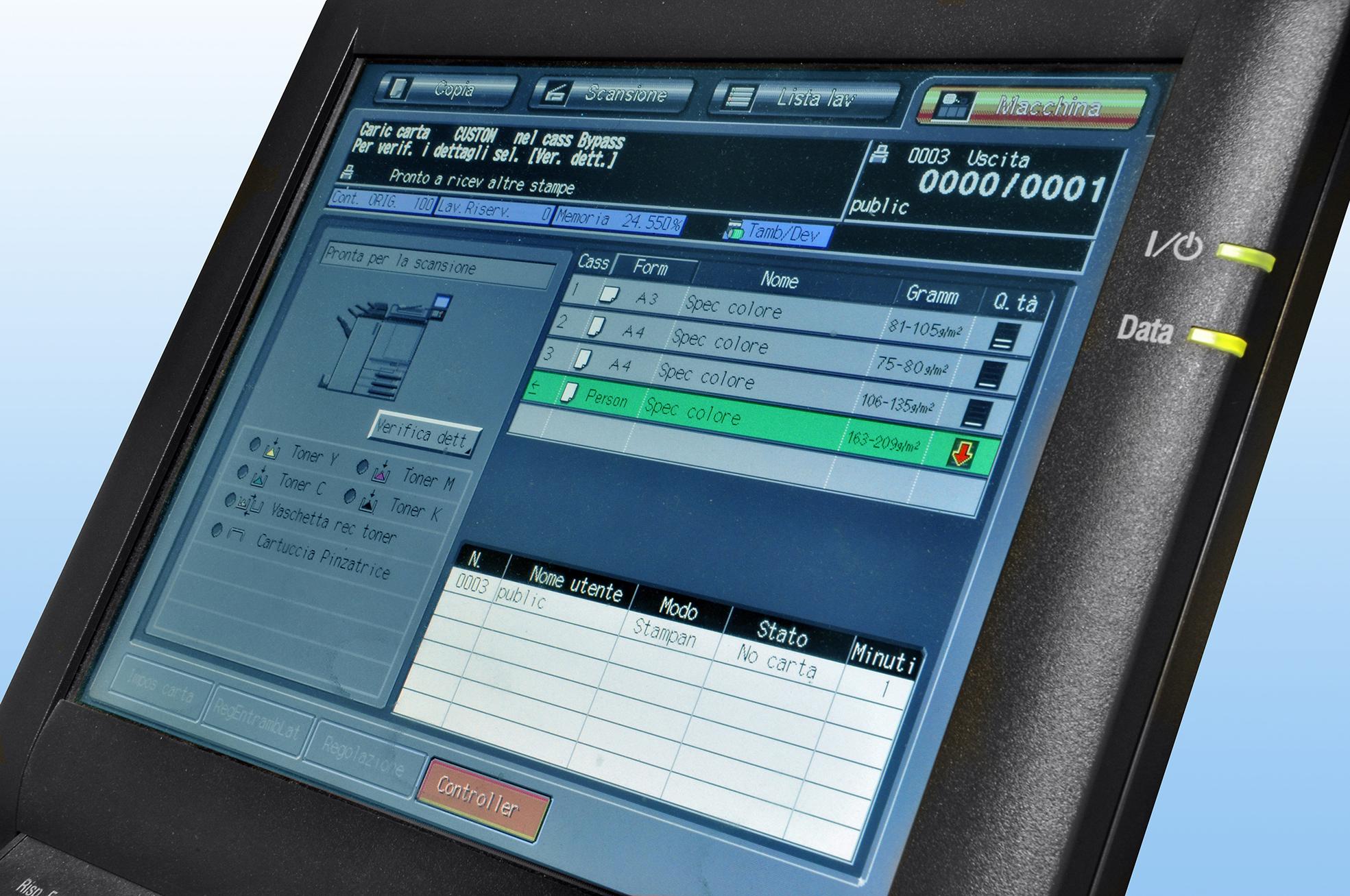 stampati offset e stampati con stampa digitale
